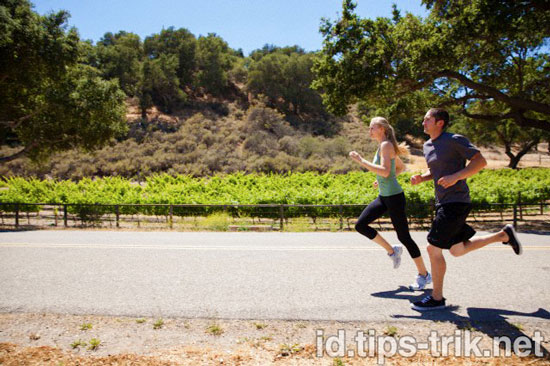 tips berlari jogging